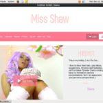 Account SHEENA SHAW Gratis