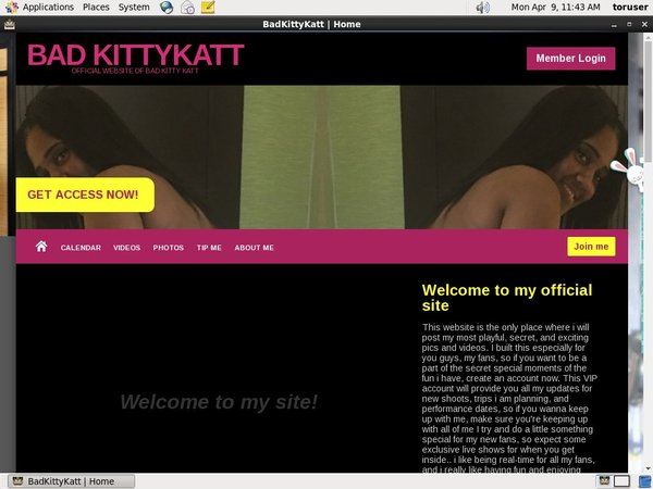 Badkittykatt.modelcentro.com Contraseña