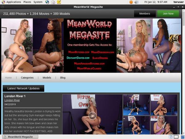 Mean World MegaSite Dvd