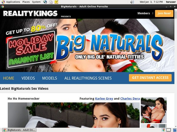 Bignaturals.com Video Download