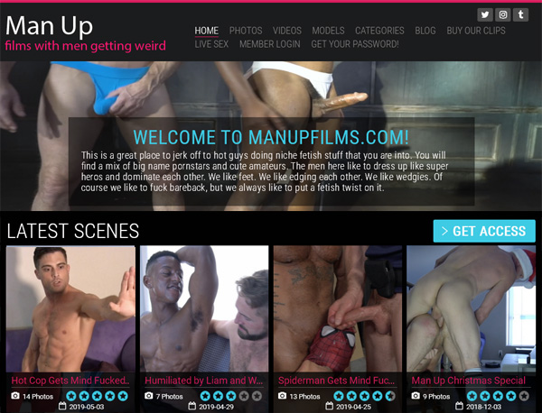 Man Up Films Full Website