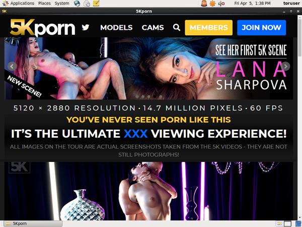 5K Porn Free Username