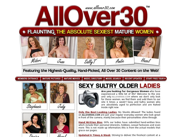Allover30 Password And Account