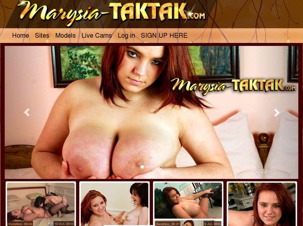 Marysia Taktak Free Site