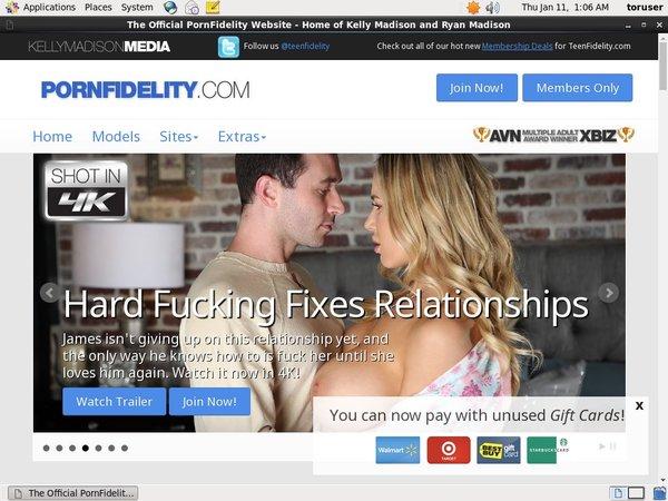Pornfidelity Wachtwoord