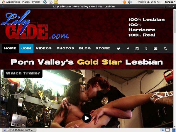 Sign Up For Lilycade.com